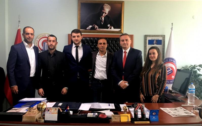 Arnavutluk Alsar Vakfından Rektör Vekili Prof. Dr. Mustafa Görün'e Ziyaret