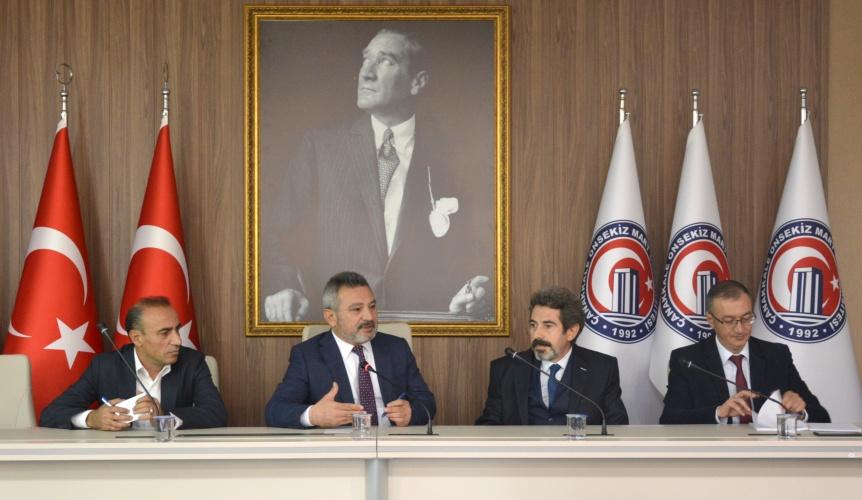 Bölüm Başkanları Toplantısı Gerçekleştirildi