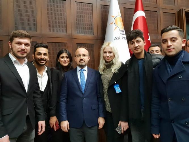 ÇOMÜ Öğrenci Konseyi'nden  Ankara Ziyareti