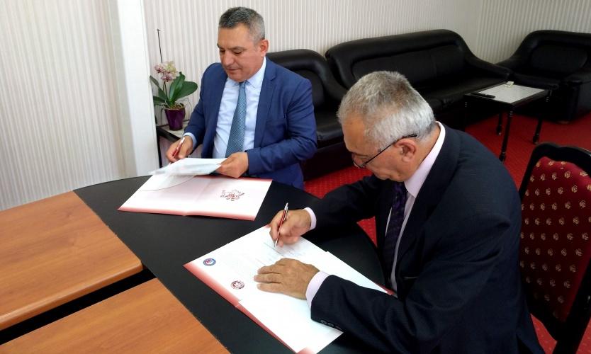 ÇOMÜ ve  Trakia Üniversitesi Arasında İşbirliği Anlaşması