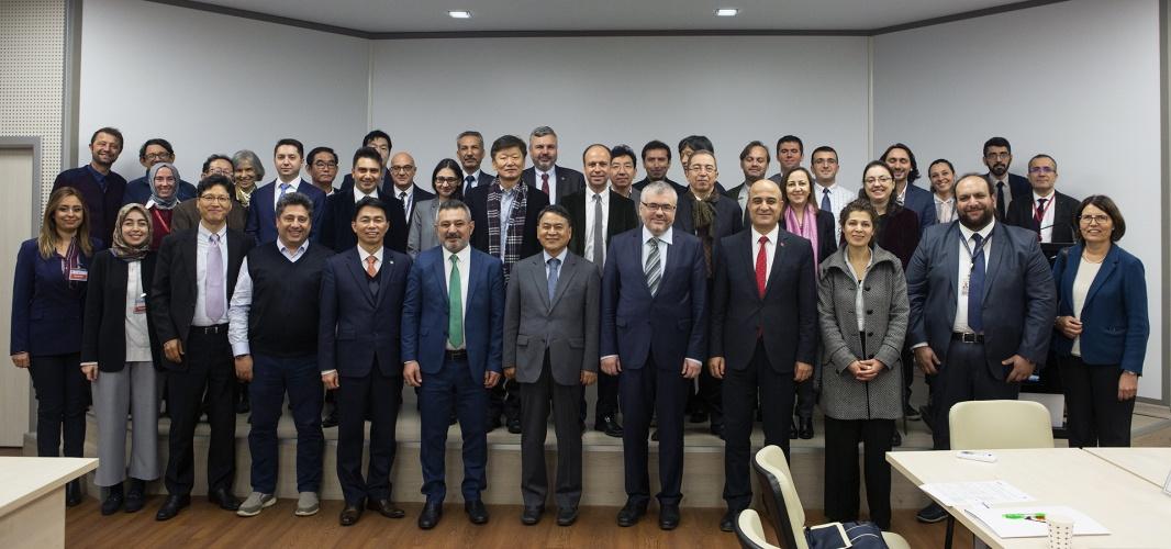 ÇOMÜ Heyeti, Güney Kore - Türkiye İşbirliği Toplantısında Ülkemizi Temsil Etti