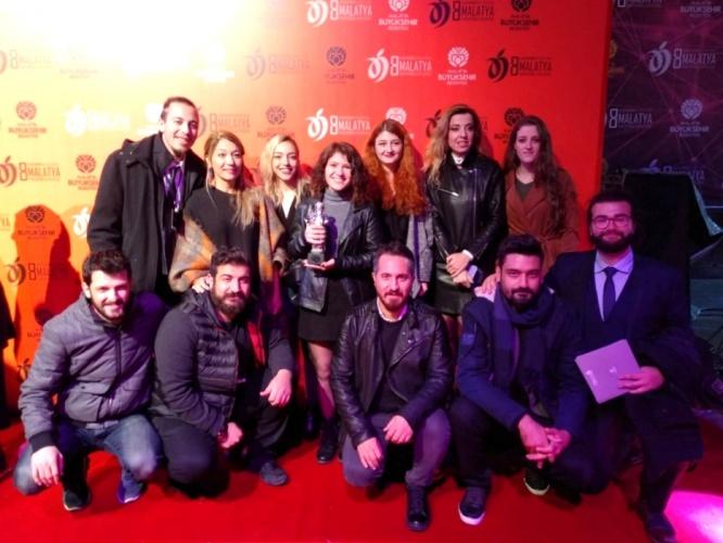 ÇOMÜ Mezunu Genç Senarist, Malatya Uluslararası Film Festivali'nde Ödül Kazandı