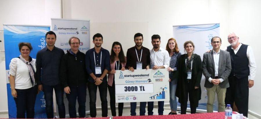 ÇOMÜ Öğrencileri, Startup Weekend Güney Marmara 2'de Birinci Oldu
