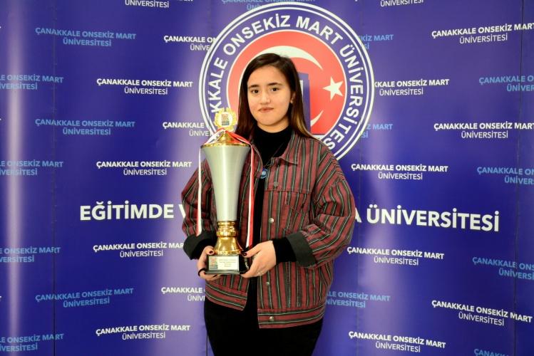 En Büyük Hayali: ÇOMÜ'yü ve Türkiye'yi Dünya Olimpiyatlarında Temsil Etmek