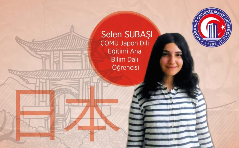 Japon Dili Eğitimi'nde Türkiye'de En Başarılı Öğrenci ÇOMÜ'lü