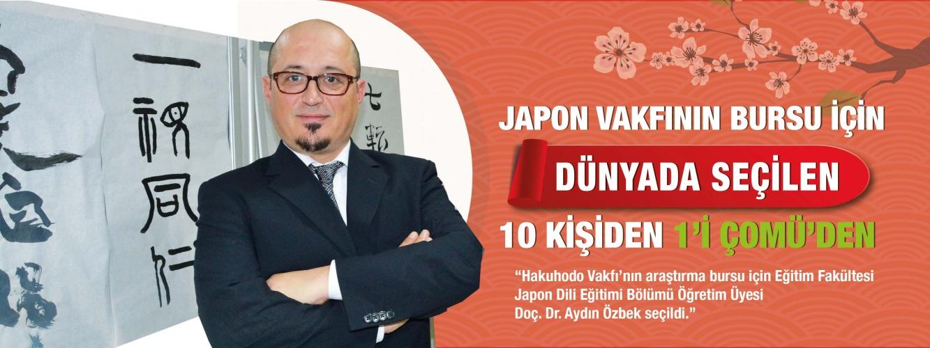 Japon Vakfının Bursu İçin Dünyada Seçilen 10 Kişiden 1'i ÇOMÜ'den