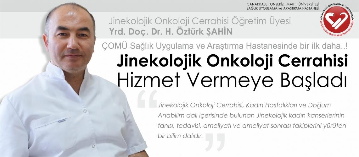 Jinekolojik Onkoloji Cerrahisi Polikliniği Hizmet Vermeye Başladı