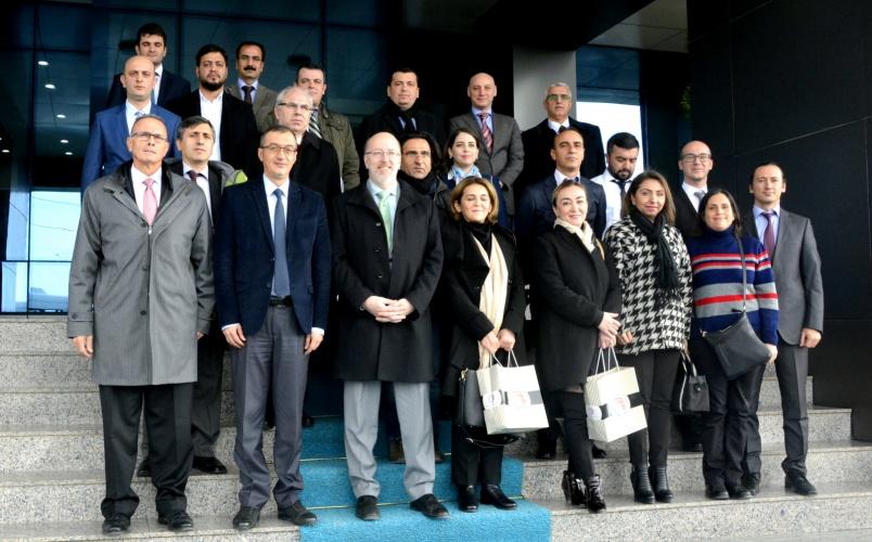 Kanada Eyalet Meclis Başkanı, Rektör Vekili Prof. Dr. Özden'i Ziyaret Etti