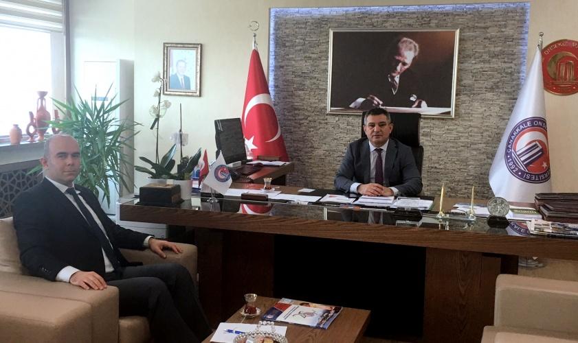 KOSGEB Müdür Vekilinden Rektör Prof. Dr. Yücel Acer'e Ziyaret