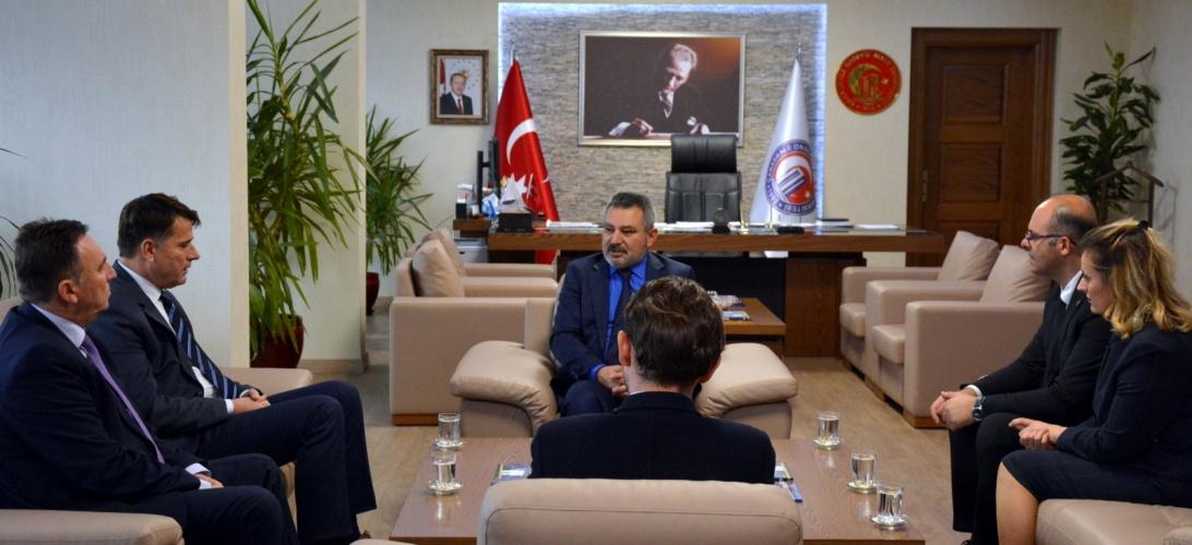 Kosova Gjilan Üniversitesi'nden Rektör Prof. Dr. Acer'e Ziyaret