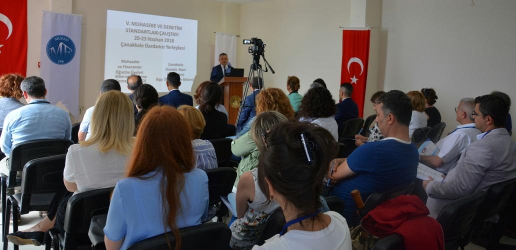 Muhasebe ve Denetim Standartları Çalıştayı ÇOMÜ Ev Sahipliğinde Yapıldı