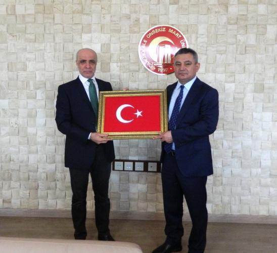 Öz Büro-İş Sendikası Genel Başkanından Rektör Prof. Dr. Yücel Acer'e Ziyaret