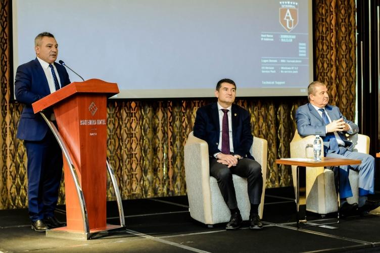 Rektör Acer, Üniversitemizi Bakü'de Tanıttı