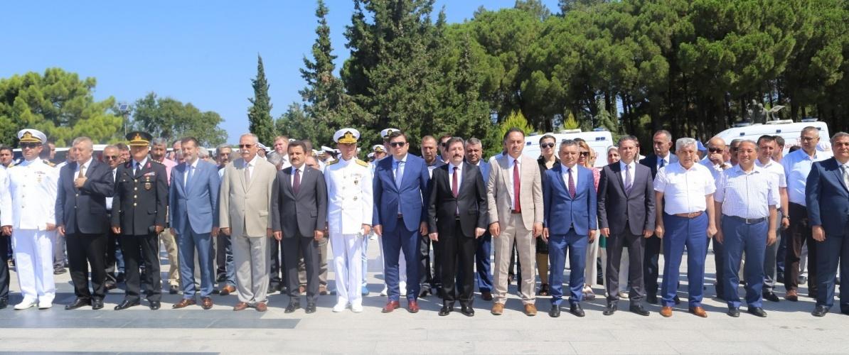 Rektör Prof. Dr. Yücel Acer, 15 Temmuz Demokrasi ve Milli Birlik Günü Törenlerine Katıldı