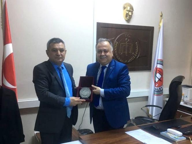 Rektör Prof. Dr. Yücel Acer, Adalet Komisyonu Başkanı Yemliha Karakoç'u Ziyaret Etti