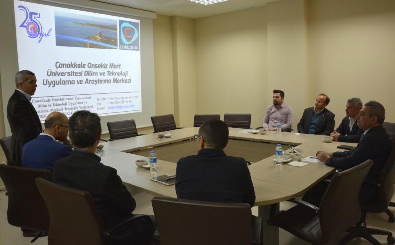 Rektör Prof. Dr. Yücel Acer, ÇOBİLTUM Yönetim Kurulu Toplantısına Katıldı