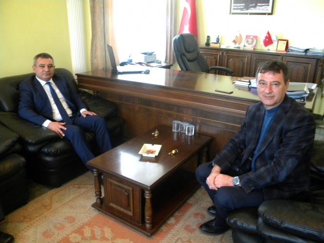 Rektör Prof. Dr. Yücel Acer'den Yenice Belediye Başkanına Ziyaret