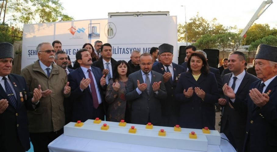 Rektör Prof. Dr. Yücel Acer, Şehit Yakınları ve Gazi Evi Rehabilitasyon Merkezi Temel Atma Törenine Katıldı