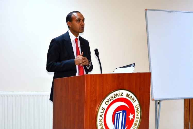 The Consulate General of Bangladesh in İstanbul Gave the First Lecture at the Faculty of Political Sciences