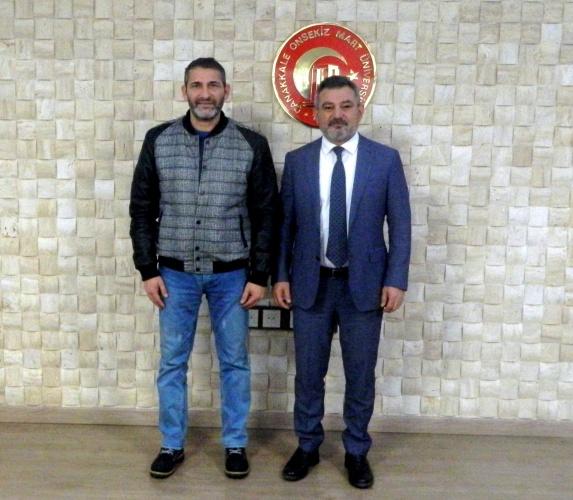 Türkiye Romanlar Birliği Konfederasyonu'ndan Rektör Acer'e Ziyaret