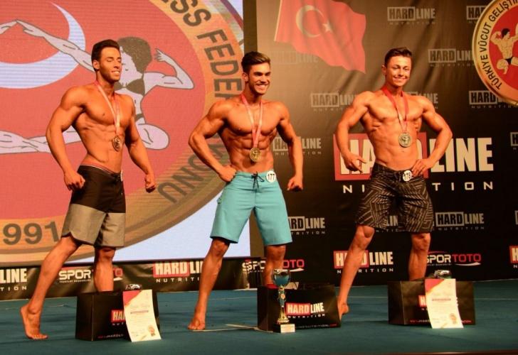 Türkiye Vücut Geliştirme ve Fitness Şampiyonası 2.'si ÇOMÜ'lü