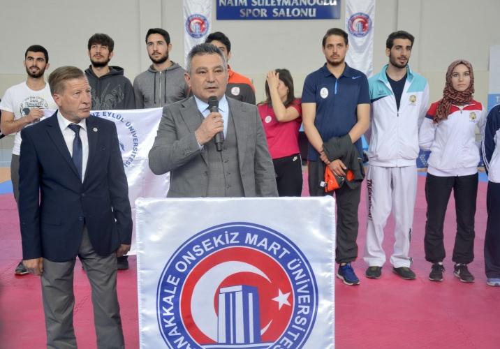 Türkiye Üniversiteler Taekwondo Şampiyonası Açılış ve Madalya Töreni Gerçekleştirildi