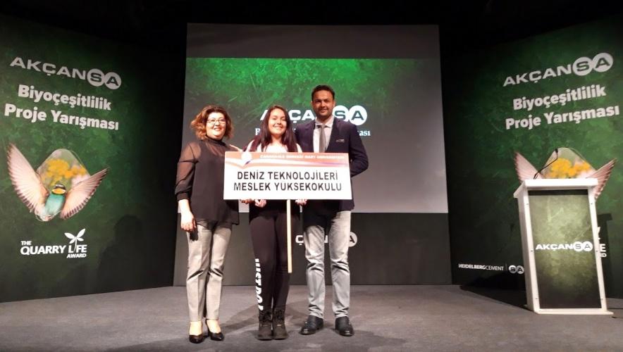 Üniversitemiz Öğretim Üyeleri, Biyoçeşitlilik Proje Yarışmasında Birinci Oldu
