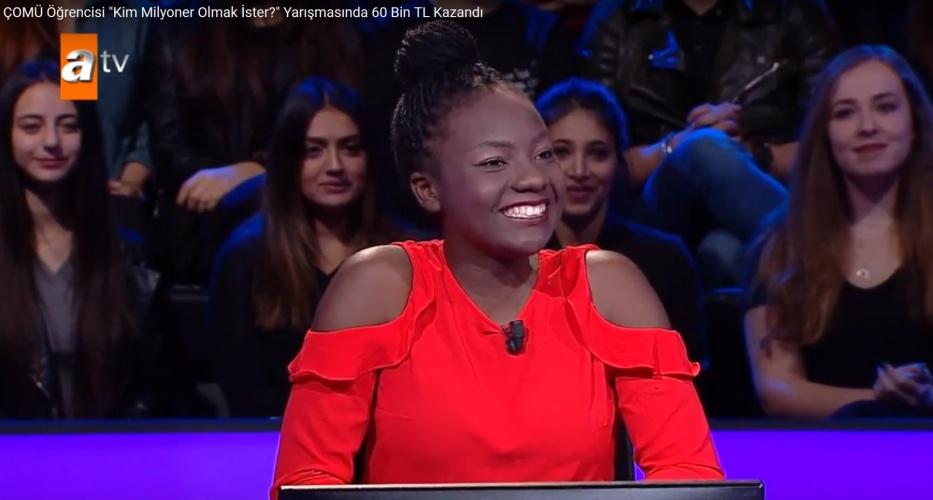 Zimbabveli Öğrencimiz Yarışmada 60 Bin TL Kazandı