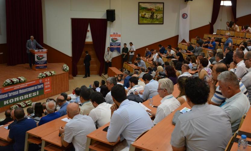 32. Ulusal Tarımsal Mekanizasyon ve Enerji Kongresi ÇOMÜ Evsahipliğinde Düzenleniyor