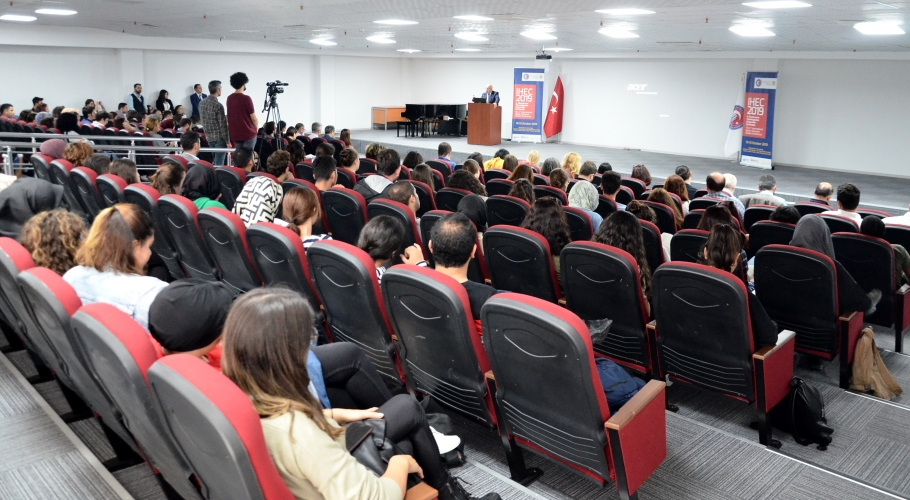 The 4th Annual Conference for the Faculty of Higher Education Studies was held.