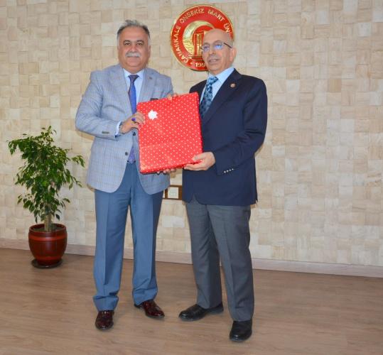 Adalet Komisyonu Başkanından Rektör Prof. Dr. Sedat Murat'a Ziyaret