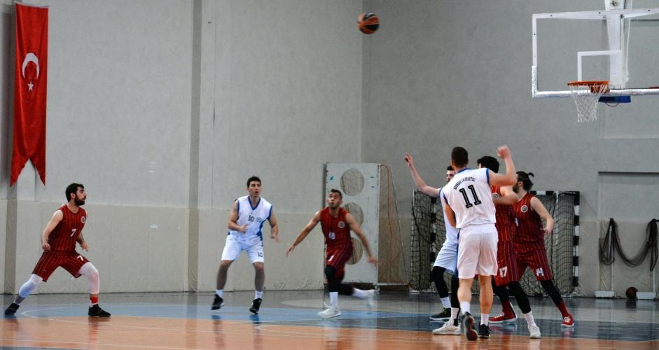 Basketbol Süper Ligi Terfi Maçları ÇOMÜ Ev Sahipliğinde Başladı