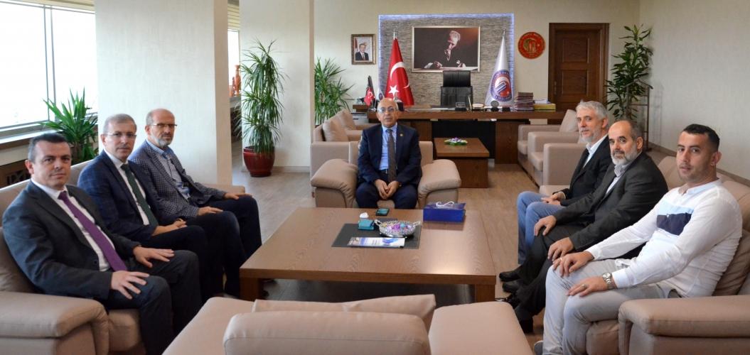 BESADER Yönetimi'nden Rektör Prof. Dr. Sedat Murat'a Ziyaret