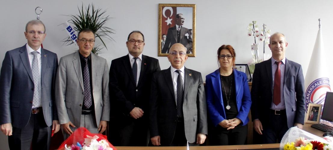 Biga Uygulamalı Bilimler Fakültesi Devir Teslim Töreni Gerçekleştirildi