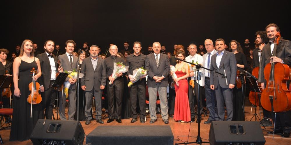 Çanakkale Deniz Savaşı Anma ve Kutlama Konseri Gerçekleşti