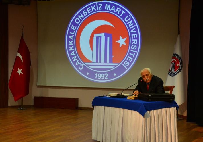 ÇOMÜ'de Tarih, Kültür ve Edebiyat Konulu Konferans Gerçekleşti