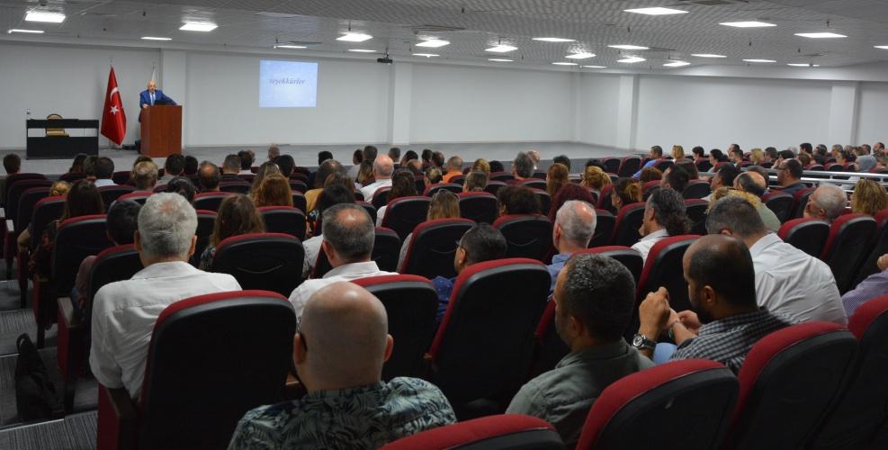Eğitim Fakültesi Akademik Kurul Toplantısı Gerçekleştirildi