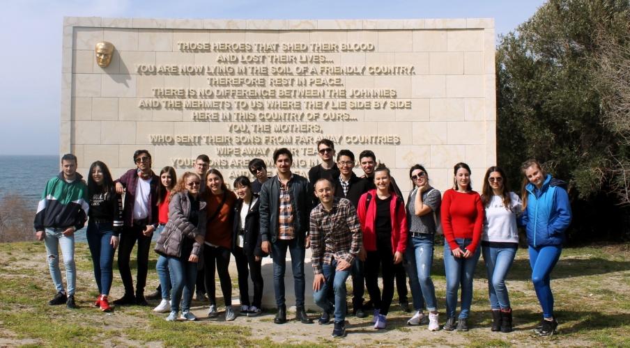Erasmus Öğrencilerine Yönelik Şehitlik Gezisi Düzenlendi