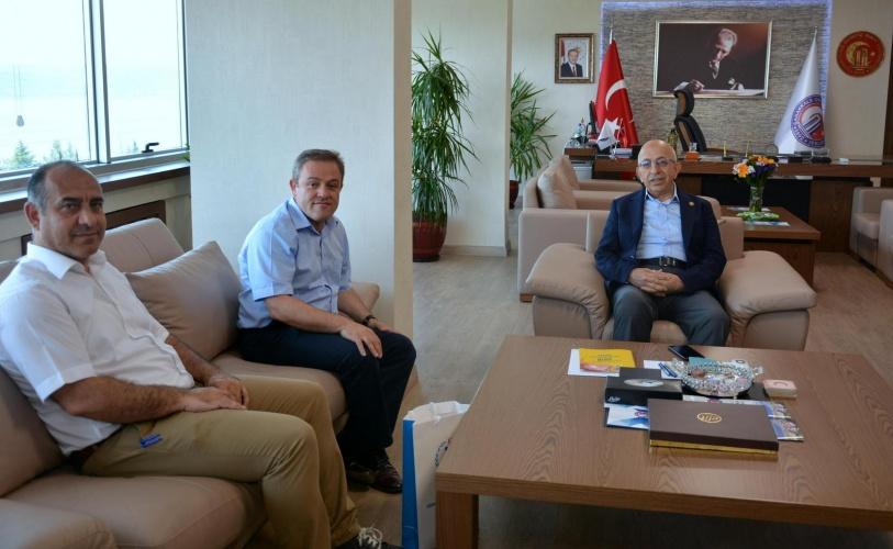 Gençlik ve Spor İl Müdürlüğünden Rektör Murat'a Ziyaret