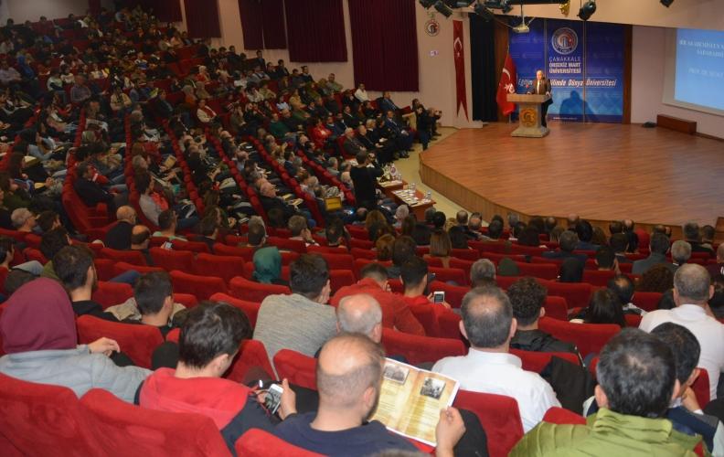 Hocaların Hocası Prof. Dr. Sabahattin Zaim ÇOMÜ'de Düzenlenen Törenle Anıldı
