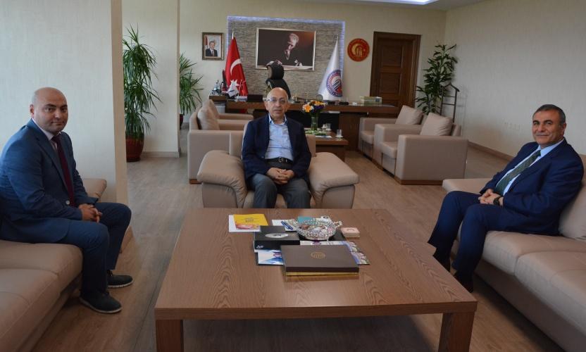 İl Sağlık Müdürü Taşçı'dan Rektör Prof. Dr. Sedat Murat'a Ziyaret