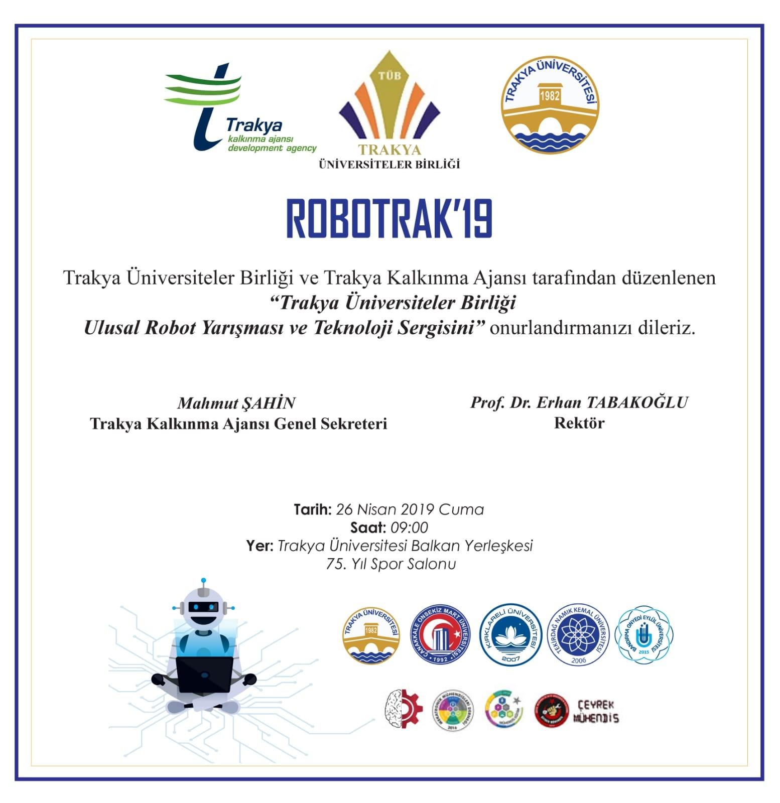 Tüb Ulusal Robot Yarışması Ve Teknoloji Sergisi çomü Duyuru
