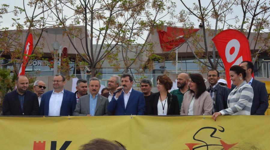 Kale Çanakkale Bisiklet Festivali Açılışı Troypark AVM'de Gerçekleştirildi
