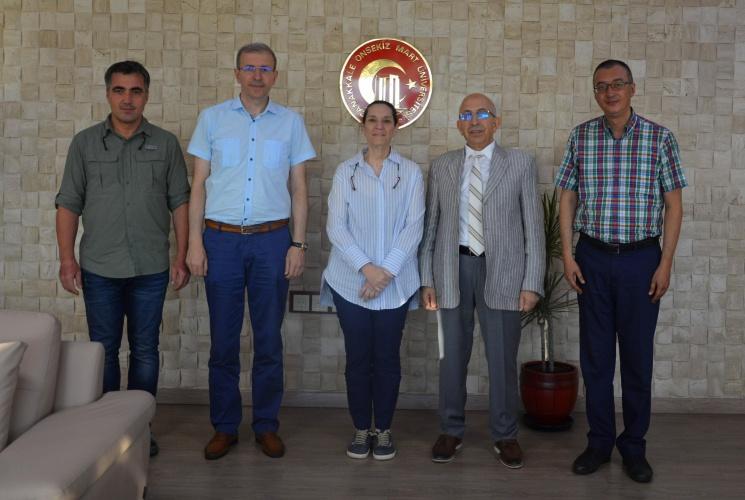 Kale Grubu Yönetim Kurulu Başkanı Zeynep Bodur Okyay'dan Rektör Prof. Dr. Sedat Murat'a Ziyaret