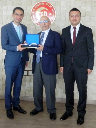 Limak Enerji Yönetiminden Rektör Prof. Dr. Sedat Murat'a  Ziyaret
