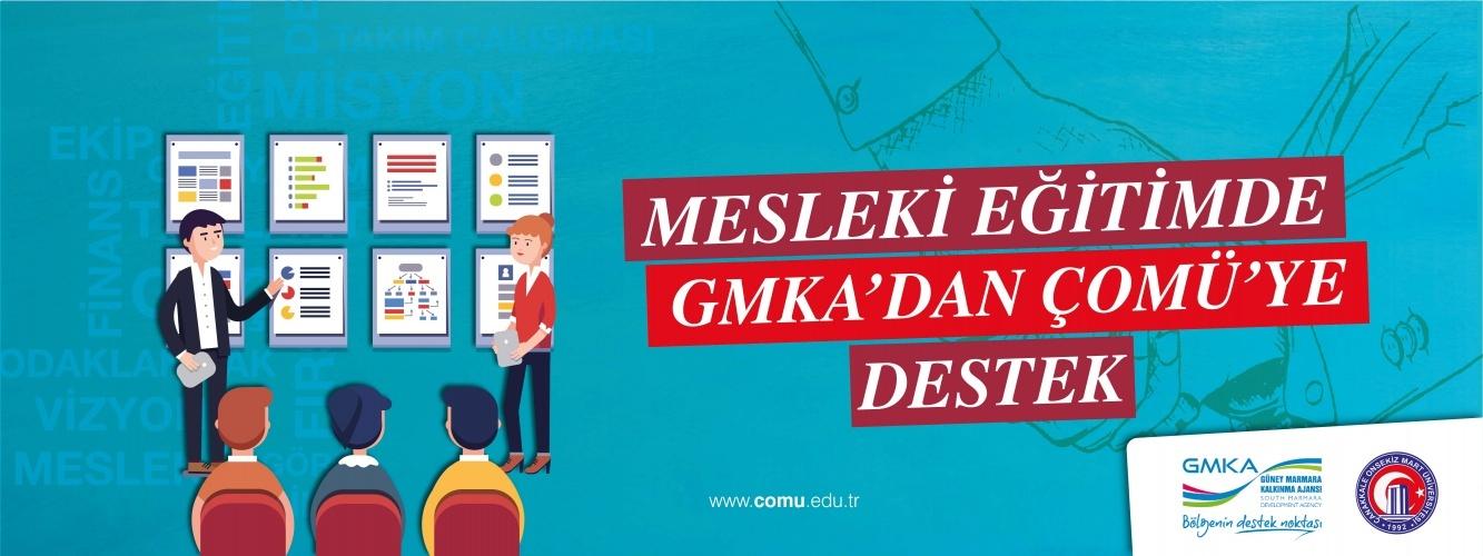 Mesleki Eğitimde GMKA'dan ÇOMÜ'ye Destek