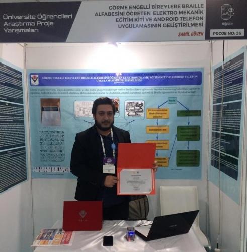 Mühendislik Fakültesi Öğrencimiz Teknofest'te Türkiye 4.sü Oldu