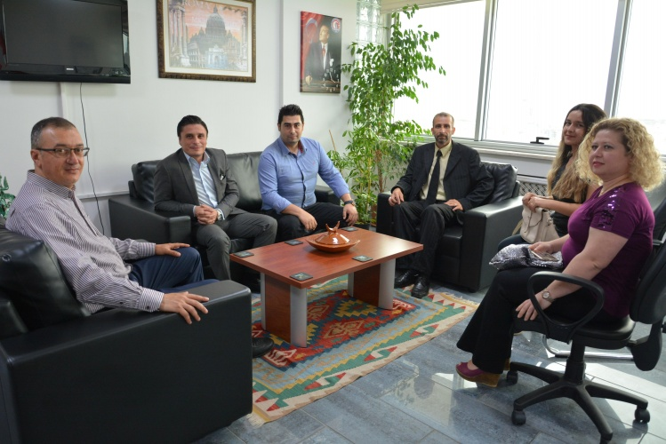 Öz Büro İş Sendikası'ndan Rektör Yardımcısı Prof. Dr. Süha Özden'e Ziyaret