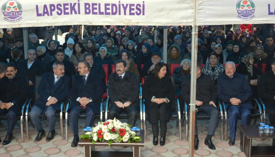 Rektör Prof. Dr. Yücel Acer, Lapseki, Biga ve Ezine'de Programlara Katıldı
