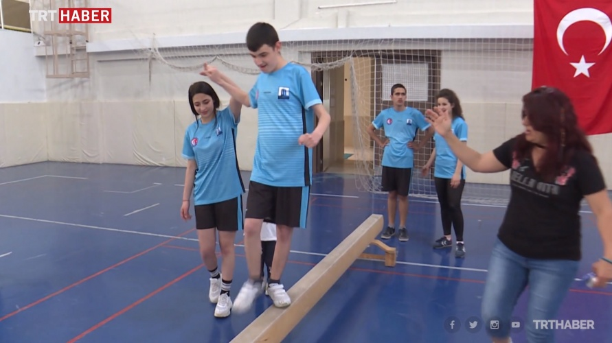 Spor Bilimleri Fakültesinin Engelli Çocuklara Yönelik Projesi TRT Haber'de